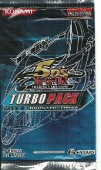 Turbo Pack Booster Three Booster - Yu-Gi-Oh!