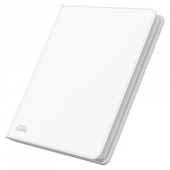 Ultimate Guard Ordner QuadRow ZipFolio 12-Pocket XenoSkin Weiss