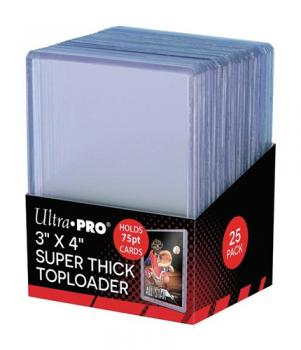 "Ultra PRO Toploader Super Thick (3""x4"")"