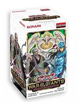 War of the Giants Reinforcements Booster Display - Yu-Gi-Oh!