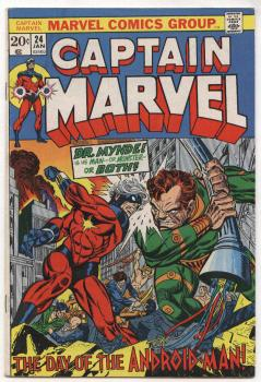 Captain Marvel #24