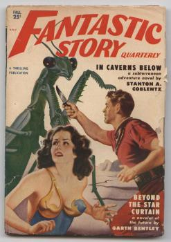 Fantastic Story Quarterly 1950 Herbst