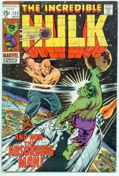 Incredible Hulk #125