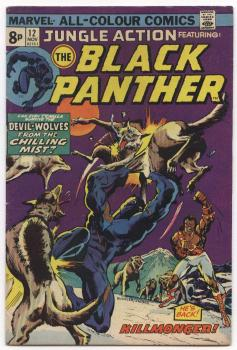 Jungle Action #12 mit Black Panther