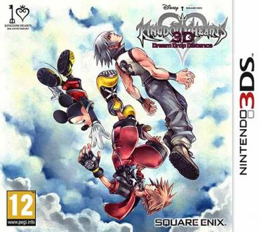 Kingdom Hearts 3D Dream Drop Distance - Nintendo 3DS
