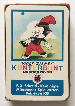 Disneys Kunterbunt Quartett