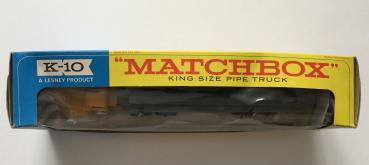 Matchbox Pipe Truck #K-10
