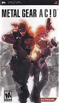 Metal Gear Acid - PSP