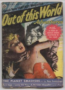Out of This World Adventures 1950 Juli