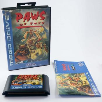 Paws of Fury - SEGA Mega Drive