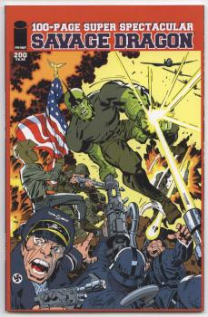 Savage Dragon #200 Jack Kirby Variant Cover