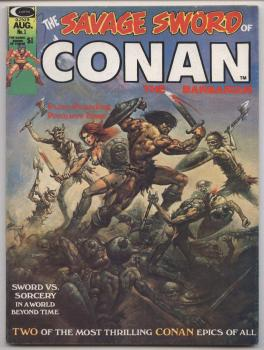 Savage Sword of Conan the Barbarian #1