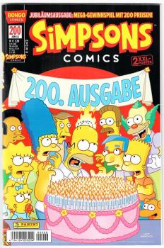 Simpsons Comics #200