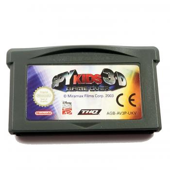 Spy Kids 3D Game Over - GBA