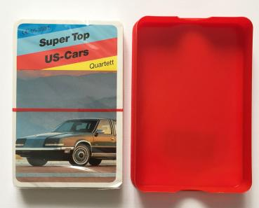 Super Top US-Cars Quartett