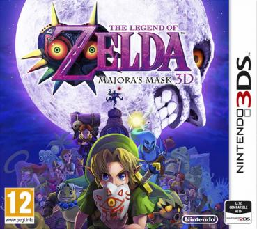 The Legend of Zelda Majora's Mask 3D - Nintendo 3DS