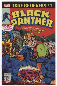 Kirby 100th Black Panther #1