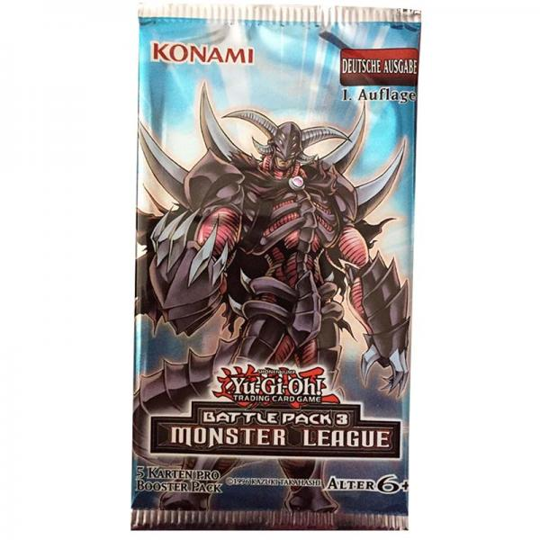 Battle Pack 3: Monster League Booster - Yu-Gi-Oh!
