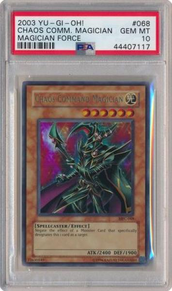 Chaos Command Magician - MFC-068 - PSA GEM MT 10 - Ultra Rare Unlimited (MFC) 7117 - Yu-Gi-Oh!
