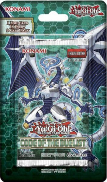 Code of the Duelist Booster Blister - Yu-Gi-Oh!