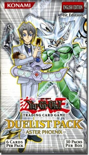 Duelist Pack Aster Phoenix Booster Display (Sealed/OVP) - Yu-Gi-Oh!