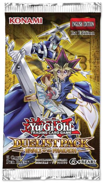 Duelist Pack: Rivals of the Pharaoh Booster - Yu-Gi-Oh!