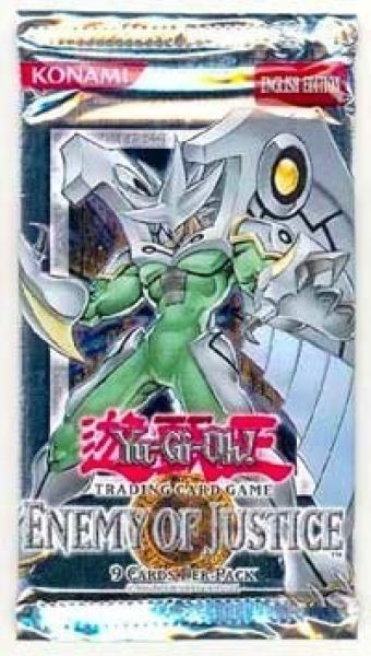 Enemy of Justice Booster - Yu-Gi-Oh!