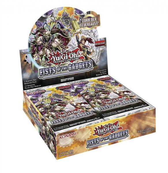 Fists of the Gadgets Booster Display - Yu-Gi-Oh!