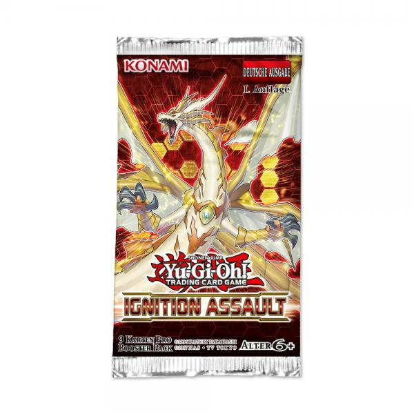 Ignition Assault Booster Blister - Yu-Gi-Oh!