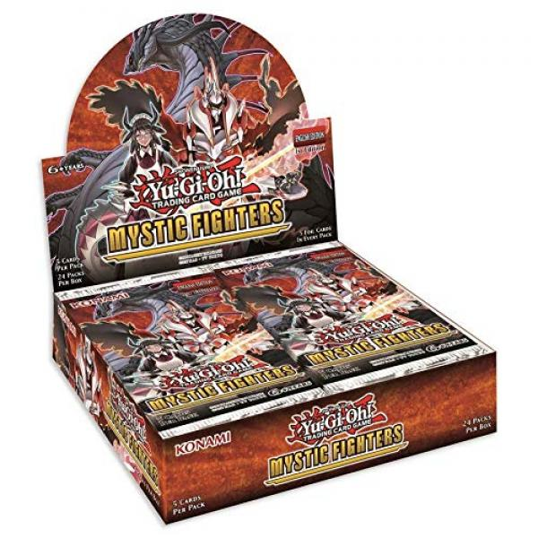 Mystic Fighters Booster Display - Yu-Gi-Oh!