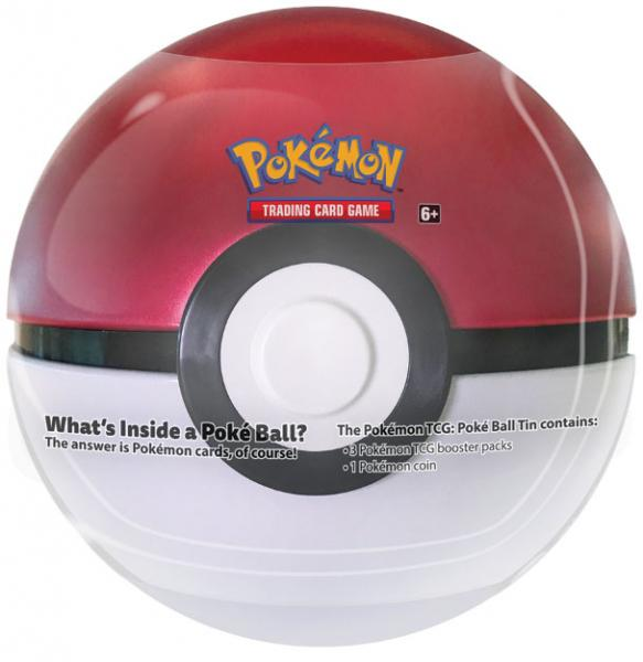 Pokémon Pokéball Tin Box