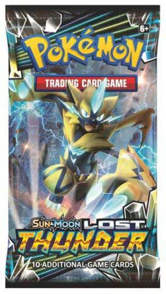 Pokémon Sun & Moon Lost Thunder Booster
