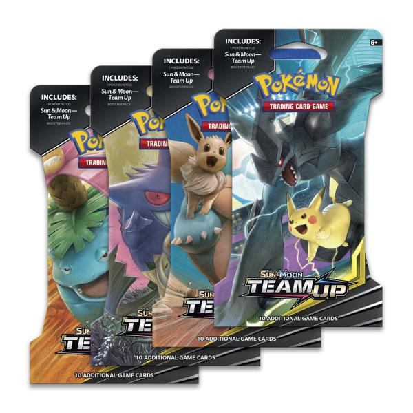 Pokémon Sun & Moon Team UP Booster