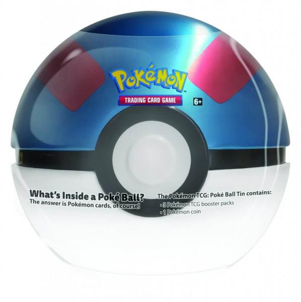 Pokémon Superball-Pokéball Tin Box