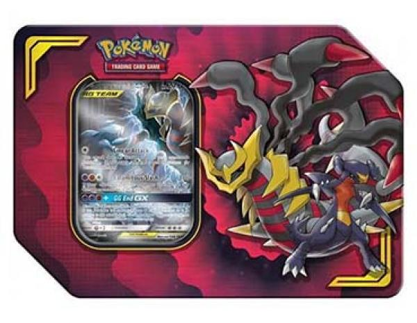 Pokémon TAG TEAM Knackrack & Giratina GX Tin Box