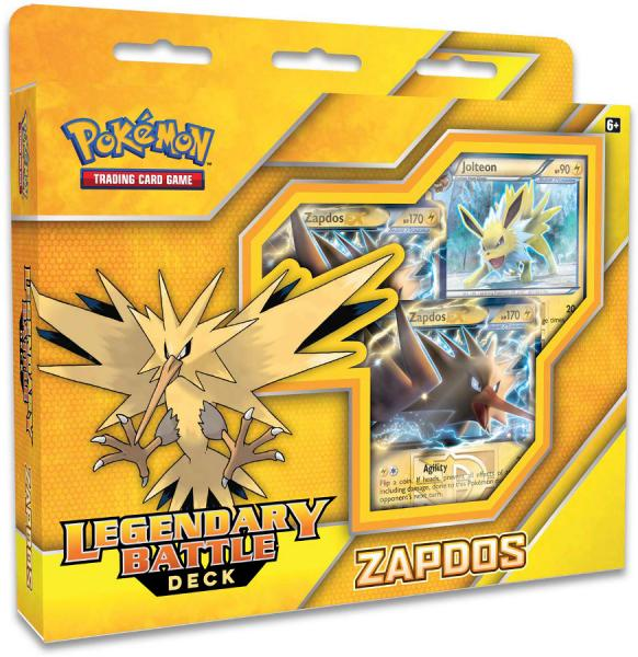 Pokémon Legendary Battle Deck Zapdos
