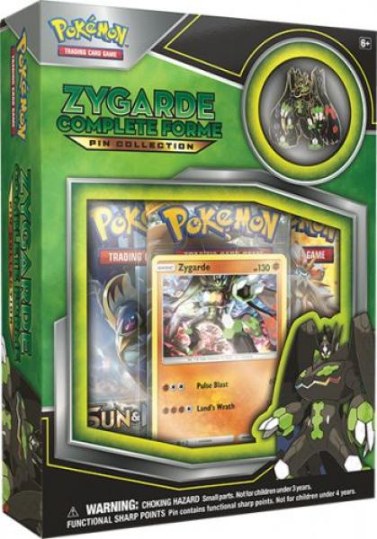 Pokémon Zygarde Complete Forme Pin Collection