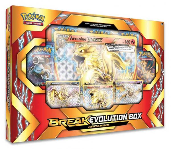Pokémon Arkani BREAK Evolution Box
