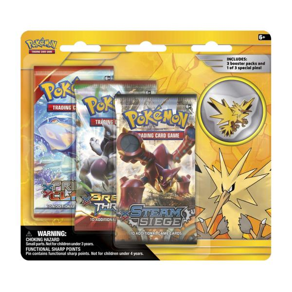 Pokémon Zapdos Pin Collection Blister