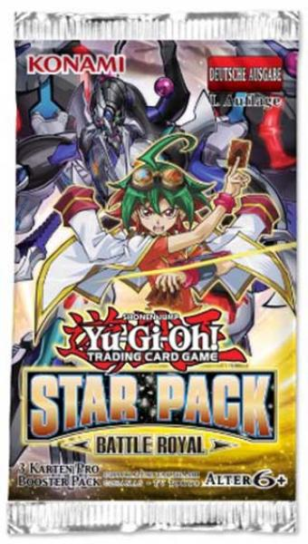 Star Pack Battle Royal Booster Display - Yu-Gi-Oh!