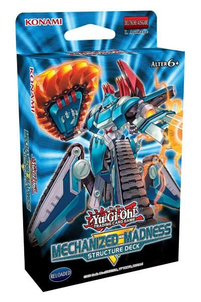Structure Deck: Mechanized Madness - Yu-Gi-Oh!