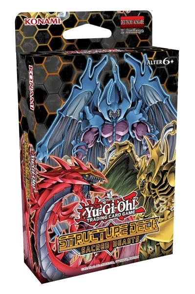 Structure Deck: Sacred Beasts - Yu-Gi-Oh!