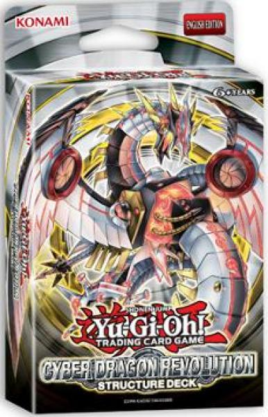 Structure Deck: Cyber Dragon Revolution - Yu-Gi-Oh!