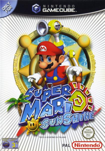 Super Mario Sunshine - GCN
