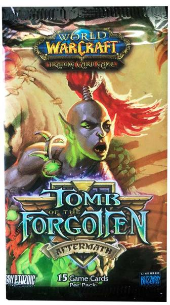 Tomb of the Forgotten Aftermath World of Warcraft TCG Booster Pack