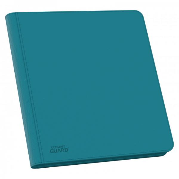 Ultimate Guard Ordner QuadRow ZipFolio 12-Pocket XenoSkin Petrolblau