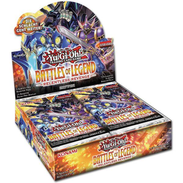 Battles of Legend: Relentless Revenge Booster Display - Yu-Gi-Oh!