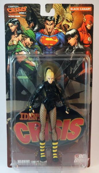 Black Canary Identity Crisis Actionfigur