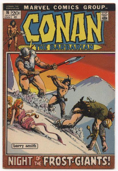 Conan the Barbarian #16