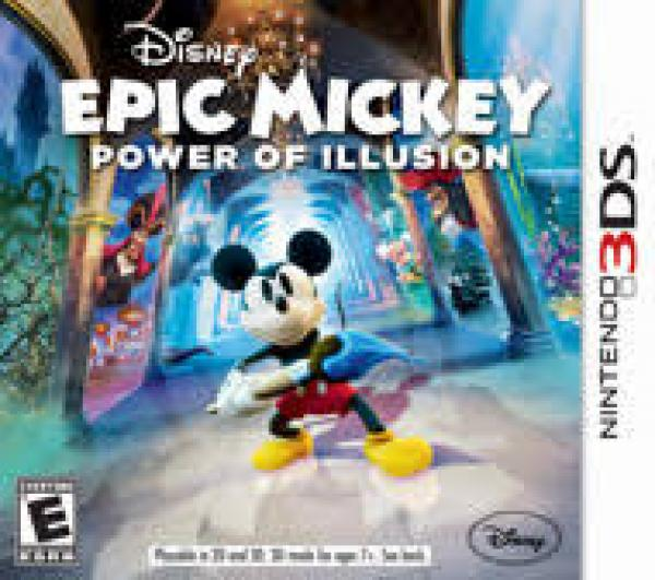 Epic Mickey Power of Illusion - Nintendo 3DS